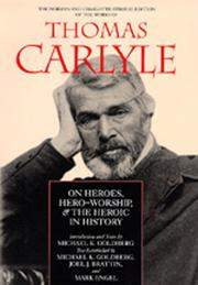 Cover of: On heroes, hero-worship and the heroic in history by Thomas Carlyle