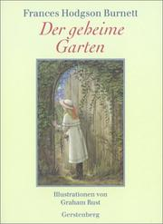 Cover of: Der geheime Garten by Frances Hodgson Burnett