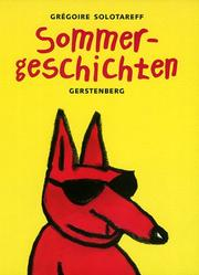 Cover of: Sommergeschichten by Grégoire Solotareff