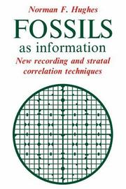 Cover of: Fossils as information by Norman F. Hughes