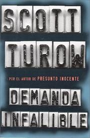 Cover of: Demanda infalible by Scott Turow