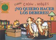 Cover of: Calvin y Hobbes 6 by Bill Watterson