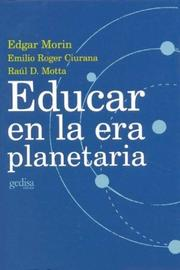 Cover of: Educar En La Era Planetaria by Edgar Morin