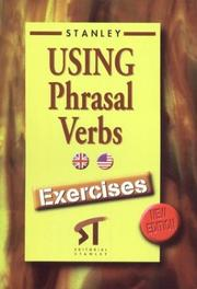 Cover of: Using Phrasal Verbs - Exercises New Edition by Edward Rosset