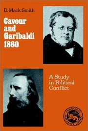 Cover of: Cavour and Garibaldi, 1860 by Denis Mack Smith