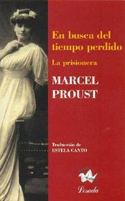 Cover of: En Busca Del Tiempo Perdido by Marcel Proust