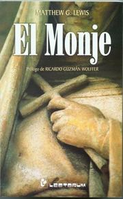 Cover of: El monje by Matthew Gregory Lewis