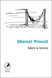 Cover of: Sobre La Lectura by Marcel Proust