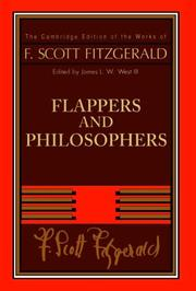 Cover of: Flappers and Philosophers by F. Scott Fitzgerald