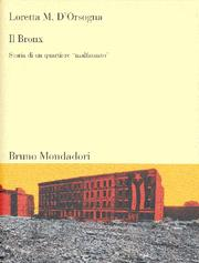 Cover of: Il Bronx by Loretta M. D'Orsogna