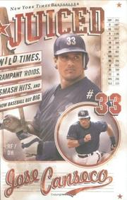Cover of: Juiced by Jose Canseco