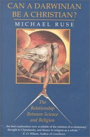 Cover of: Can a Darwinian be a Christian? by Michael Ruse