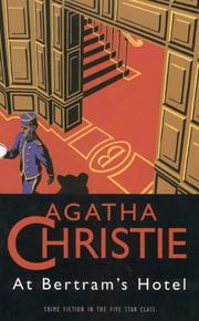 Cover of: At Bertram&#39;s Hotel by Agatha Christie