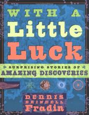 Cover of: With a little luck by Dennis B. Fradin