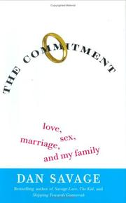 Cover of: The Commitment by Dan Savage