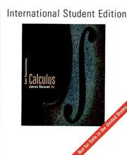 Cover of: Calculus | James Stewart