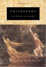 Cover of: Philosophy by Louis P. Pojman