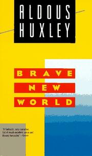 Cover of: Brave New World by Aldous Huxley