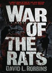 Cover of: War of the rats by Robbins, David L.
