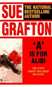"Cover of: ""A"" is for alibi by Sue Grafton"