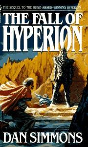 Cover of: The fall of Hyperion by Dan Simmons