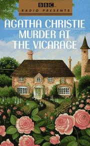Cover of: Murder at the Vicarage by Agatha Christie
