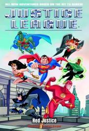 Cover of: Red Justice (Justice League (TM)) by Michael Teitelbaum