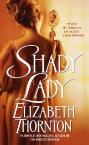 Cover of: Shady lady by Elizabeth Thornton