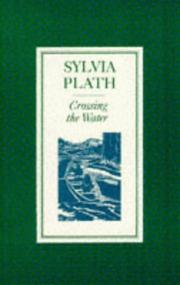 Cover of: Crossing the Water by Sylvia Plath