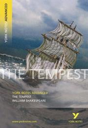 "Cover of: ""Tempest"" by William Shakespeare"