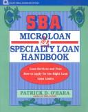 Cover of: SBA microloan and specialty loan handbook by Patrick D. O'Hara