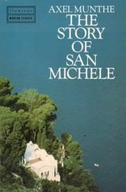 Cover of: The story of San Michele by Axel Munthe