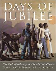 Cover of: Days of Jubilee by Pat McKissack