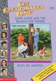 Cover of: Mary Anne and the Search for Tigger by Ann M. Martin