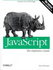 Cover of: JavaScript by David Flanagan