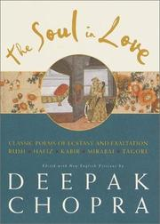 Cover of: The Soul in Love by Deepak Chopra