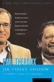 Cover of: Sir Vidia's shadow by Paul Theroux