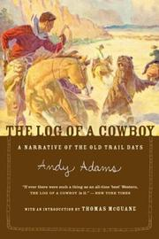 Cover of: The log of a cowboy by Andy Adams