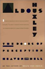 Cover of: The Doors of Perception and Heaven and Hell by Aldous Huxley