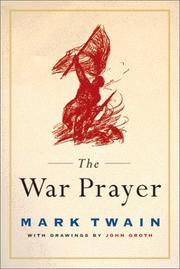 Cover of: The war prayer by Mark Twain