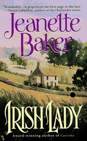 Cover of: Irish Lady by Jeanette Baker
