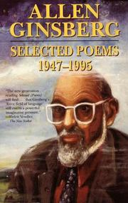 Cover of: Selected Poems by Allen Ginsberg