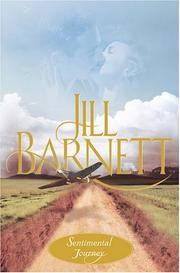 Cover of: Sentimental journey by Jill Barnett
