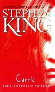 Cover of: Carrie by Stephen King
