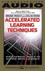 Cover of: Accelerated Learning Techniques by Brian Tracy
