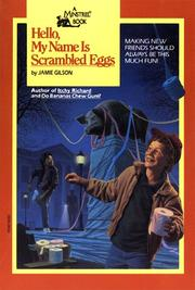 Cover of: Hello, My Name Is Scrambled Eggs (Minstrel Book) by Jamie Gilson