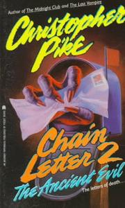 Cover of: Ancient Evil (Chain Letter 2) by Christopher Pike