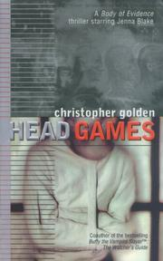 Cover of: Head games by Christopher Golden
