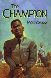 Cover of: The champion by Maurice Gee