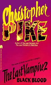 Cover of: The last vampire 2 by Christopher Pike